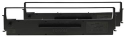 C13S015647 EPSON LX300 FBK NYL SCHW (2) 2x4Mio Zeichen Nylon schwarz Dual-Pack