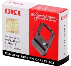 OKI tape OKI 09002316 Nylontape zwart, Inhoud 5.000.000 Teken
