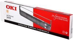 OKI tape OKI 09002308 Nylontape zwart, Inhoud 10.000.000 Teken voor Microline 3410/ML 3410. Leveringst...