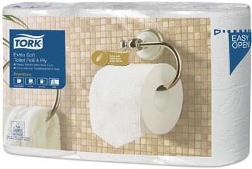 Tork toiletpapier T4  4-laags pak van 6 rollen