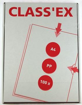 Class'ex insteekmap gekorreld 120 micron 100 stuks