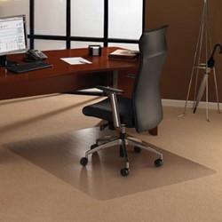 Bureaustoelmat voor tapijt vloer 120x150cm