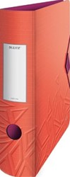 Leitz Active ordner Urban Chic, rug van 7,5 cm, rood