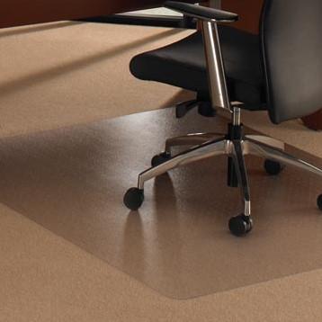 Vloerbeschermer Onder Bureaustoel.Vloerbeschermer 119x75cm Voor Tapijtvloeren