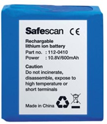 Safescan Oplaadbare batterij