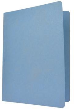 vouwmap folio blauw