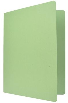 Vouwmap folio groen