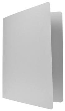 Vouwmap folio grijs