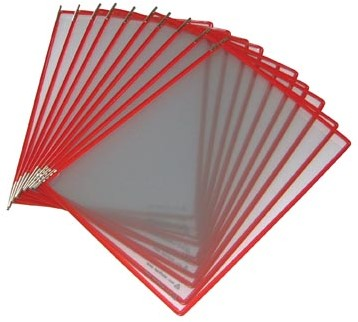 Tarifold tas t-display rood