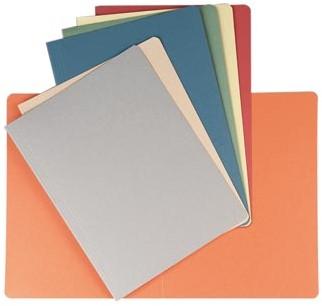 Dossiermap A4 geassorteerde kleuren