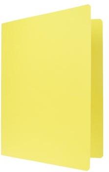 Vouwmap A4 geel
