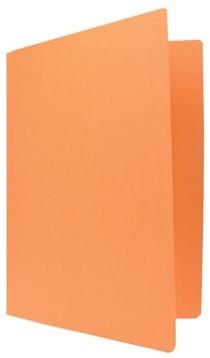 Vouwmap A4 oranje