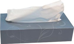 Katrin facial tissues, 2-laags, doos van 100 vellen
