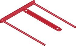 Bankers Box archiefbinder D-clip, doos van 100 stuks, rood