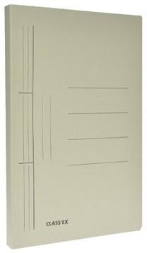 Class'ex hechtmap grijs 25x32cm A4
