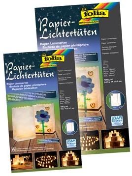 Folia Lichtzak 19 x 11,5 x 7 cm neutraal