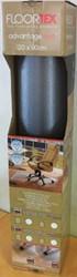bureaustoelmat 120x90cm voor tapijt vloeren met uitsparing