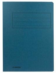 Dossiermap A4 blauw ds/50
