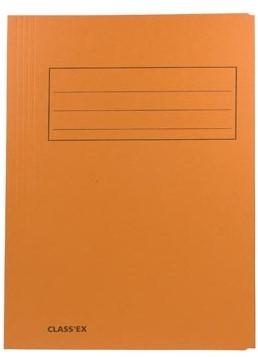 Dossiermap A4 oranje