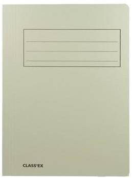 Dossiermap karton A4 grijs