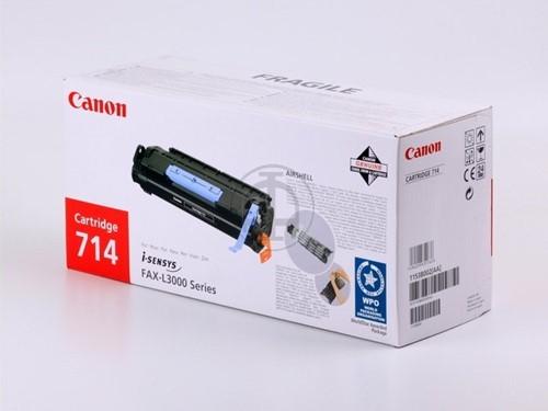 Canon toner Canon 1153B002|714 Tonercartridge zwart, 4.500 pagina's/5% voor Fax L 3000/3000 I/IP/I-Sen...