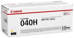 0455C001 CANON LBP710CX TONER YELLOW HC 040HY 10.000Seiten hohe Kapazitaet