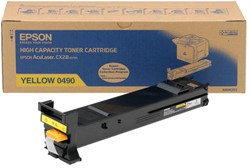C13S050490 EPSON ALCX28DN TON AcuBrite 8000pages yellow