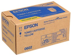 C13S050602 EPS ALC9300N TON YE 7500pages Toner yellow