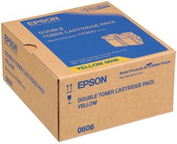 C13S050606 EPS ALC9300N TONER(2) YELLOW 2x7500pages