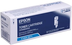 C13S050671 EPSON ALC1700 CARTRIDGE CYA 700pages