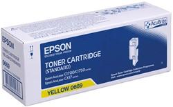 C13S050669 EPSON ALC1700 CARTRIDGE YEL 700Seiten yellow
