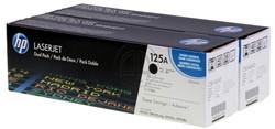 HP 125A toner CB540A zwart duopack