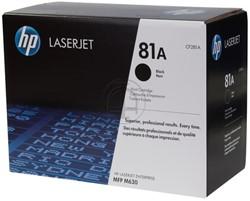 CF281A HP CLJ M630 CARTRIDGE BLACK ST HP81A 10.500Seiten Standard Kapazitaet