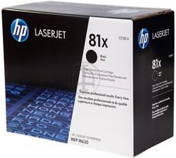 CF281X HP CLJ M630 CARTRIDGE BLACK HC HP81X 25.000Seiten hohe Kapazitaet