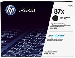 CF287X HP LJ M506 CARTRIDGE BLACK HC HP87X 18.000pages high capacity