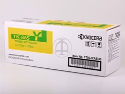 Kyocera Mita tonercartridge TK-865 yellow
