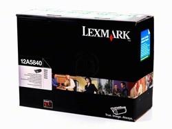 Lexmark 12A5840 return program  toner zwart 10.000 afdrukken