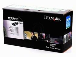 Lexmark 12A7410 return program toner zwart 5.000 afdrukken
