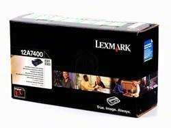 Lexmark 12A7400 toner zwart 3.000 afdrukken