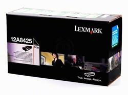 Lexmark 12A8425 toner zwart 12.000 afdrukken