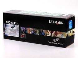 Lexmark 24016SE return program  toner zwart 2500 afdrukken