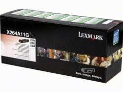 Lexmark 264A11G return program toner zwart 3.500 afdrukken