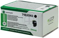 71B20K0 LEXMARK CS317 TONER BLACK RETURN 3000pages