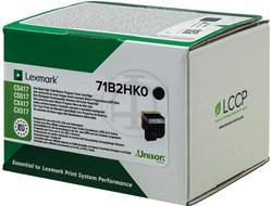 71B2HK0 LEXMARK CS417 TONER BLACK RETURN 6000pages