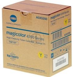 A0X5250 KON MC4750 TONER YEL 6000pages ISO19798 TNP18Y