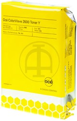 1070095112 OCE CW3500 TONER YELLOW 500gr Pearls