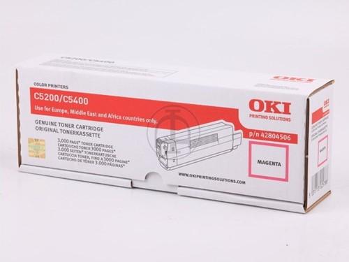 OKI toner C5100/C5200/c5300/C5400 magenta 3.000 pag.