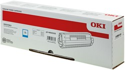 46443103 OKI C833DN TONER CYAN HC 10.000pages high capacity