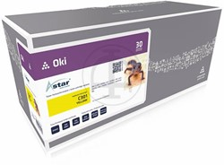 Astar toner Oki C301 yellow 1500pages