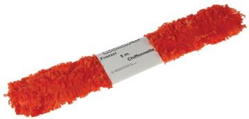 Bouhon froezelpapier oranje